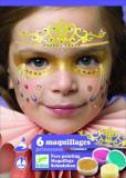 Set make-up, culori non alergice Djeco, printese