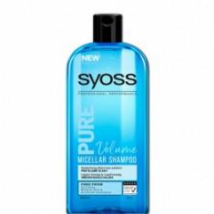 Cumpara ieftin Sampon micelar pentru par subtire Syoss Pure Volume Hair, 500 ml