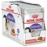 Cumpara ieftin Hrana umeda pentru pisici Royal Canin, Sterilised, in sos, 12x85g