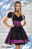 Rochie Oktoberfest 00 Mov, S, XS, Midi, Dirndline