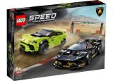 LEGO Speed Champions - Lamborghini Urus ST-X & Lamborghini Huracan Super Trofeo EVO