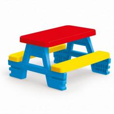 Masuta de picnic, suprafata mare de joaca, asamblare rapida si usora, 43 x 77 x 71 cm