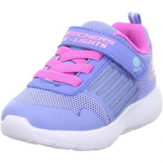 Tenisi Copii Skechers Low Dynalights 20268NBLNP
