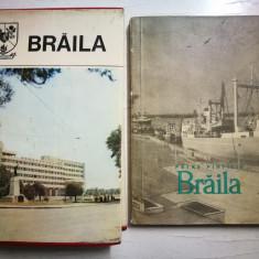 Lot 2 carti vechi monografie Braila. Braila - Petre Pintilie
