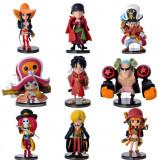 Set Figurina One Piece Luffy Zoro Sanji Robin Nami Brook anime 7 cm