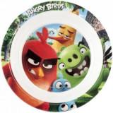 Farfurie adanca melamina Angry Birds Lulabi