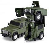 Cumpara ieftin Land Rover Transformer 1:14 2.4GHz RTR AA baterie - Verde