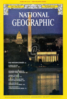 National Geographic - October 1976 (National Geographic Society) foto