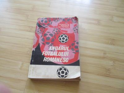 ANUARUL FOTBALULUI ROMANESC 1967-1969 foto