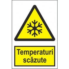 Indicator Temperaturi scazute - Semn Protectia Muncii