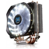 Cooler CPU Zalman CNPS9X Optima White, Ventilator 120mm, Heatpipe-uri Cupru,...