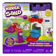 Kinetic Sand Castel Cu Nisip Si Forme