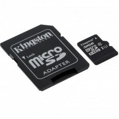 Card memorie Kingston microSDXC, 32GB, Canvas Select 80R, clasa 10 UHS-I (SDCS/32GB) + adaptor