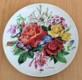Farfurie - Ursula Band - Visul Florilor - Hutschenreuther - '87- Vara
