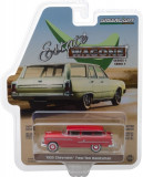 Cumpara ieftin 1955 Chevrolet Two-Ten Handyman - Gypsy Red Solid Pack - Estate Wagons Series 1 1:64