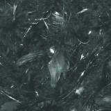 Sal din pene negru cu argintiu 2m- Cod 53528