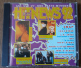 CD Hit News '92 *Roxette,Snap,Scorpions,J.Cocker,Gypsy Kings [CD Compilation]