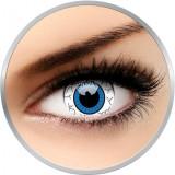 Crazy Comic Eye - lentile de contact colorate albe anuale - 360 purtari (2 lentile/cutie)