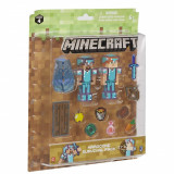 Set Figurina Minecraft -Hardcore survival