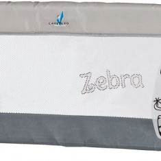 Balustrada de protectie pentru pat Caretero Safari Grey
