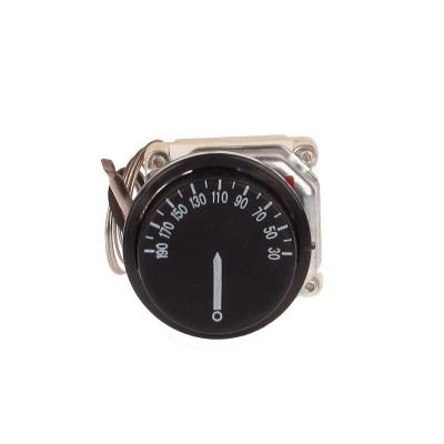 Termostat Trifazic Reglabil ,cu Sonda si Capilarul de Inox, 50-250°C - ElectroAZ foto
