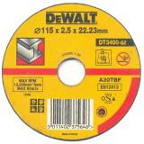 Disc abraziv DeWALT DT3400 plat taiere metal 125mm