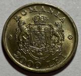 2000 Lei 1946, Romania UNC, Luciu de batere