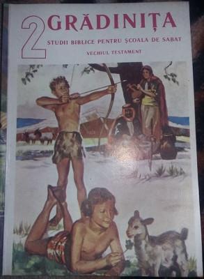 Carte 1991,GRADINITA,Sudii biblice,Scoala de SABAT,VECHIUL TESTAMENT,T. GRATUIT foto