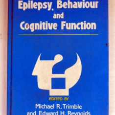 EPILEPSY, BEHAVIOUR AND COGNITIVE FUNCTION