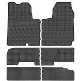 Set Covorase Auto Cauciuc Negro Opel Vivaro 1 2001-2014 D00694+546146+546177