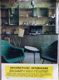 1969 Reclama Decoratiuni interioare 24 x 17 cm comunism Coop METALO-CASNICA BUC