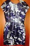 Shop my closet! Rochie multicoloră țesută Zara, XS/S
