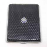 Cumpara ieftin Tabachera 20 Tigari Cu Simboluri Masonice 100's HG-605
