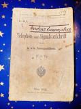 C84-KUK Telefon-Telegraf Viena 1912 Centrul Artileriei Imperiale.