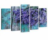 Set 5 tablouri Provence Bouquet