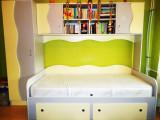 Vand mobila dormitor tineret, saltea noua inclusa