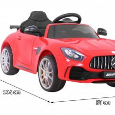 Masinuta electrica Mercedes-AMG GT R, rosu