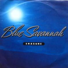 "Erasure - Blue Savannah (1990, Mute) Disc vinil single 7"""