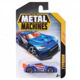 Masinuta Metal Machines Typhoon, 1:64, Albastru
