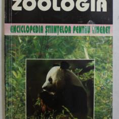ZOOLOGIA - ENCICLOPEDIA STIINTELOR PENTRU TINERET de TUDOR OPRIS , 1997