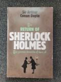 THE RETURN OF SHERLOCK HOLMES - Sir Arthur Conan Doyle (in limba engleza)