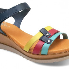 Sandale Dama Platforma Rainbow