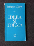 IDEEA SI FORMA - JACQUES CLARET