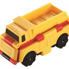 MASINUTA TRANSFORMABILA - camion de gunoi & masina de pompieri