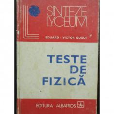 TESTE DE FIZICA - EDUARD VICTOR GUGUI