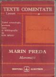 Texte comentate - Morometii de Marin Preda