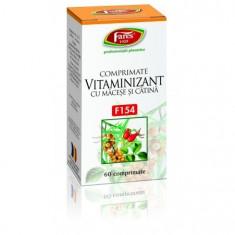 Vitaminizant macese+catina 60 comprimate - Fares