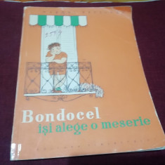 MARCEL BRESLASU - BONDOCEL ISI ALEGE O MESERIE 1958