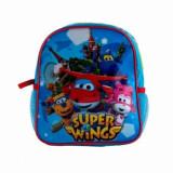 Ghiozdan gradinita Super Wings, 24.5x22.5x8.5 cm