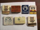 PVM - Lot 7 cutii chibrituri straine mai vechi